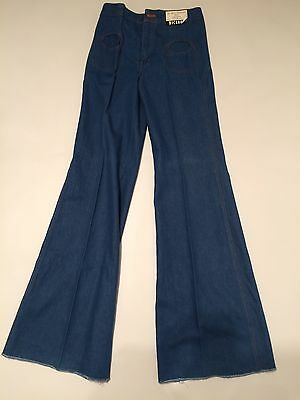 VICEROY flares Jeans Bell Bottoms  Blue Men's BNWT 70s 80s 30 W