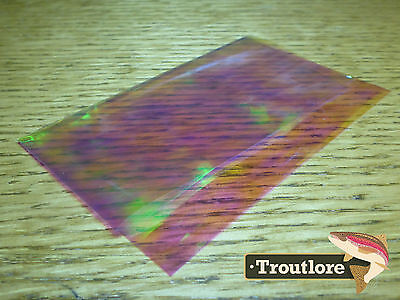 Hareline Dubbin Pearlescent Sheet Flashback / Wing Material - New Fly Tying