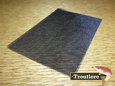 Black Hareline Dubbin Non-Fray Winging Material - New Fly Tying Materials