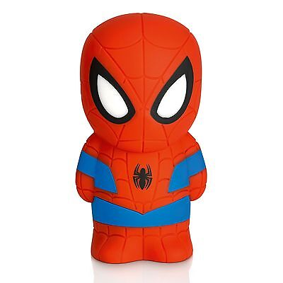 Marvel Spiderman Softpal Portable Led Night Light New