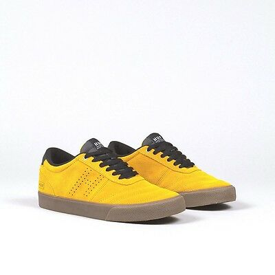 Huf Skateboard - Galaxy Mustard Black - Uk 9 - Skate Sale Shoes Trainers New