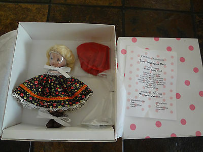 Nancy Ann Storybook Dolls Little Red Riding Hood in Box w/Stand #5 of 1000