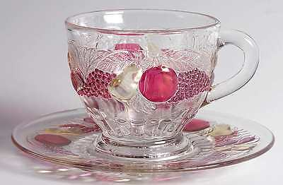 Westmoreland DELLA ROBBIA FLASHED Punch Cup & Saucer S8577932G2