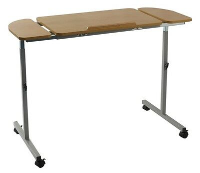 NRS Height & Width Adjustable Angle Tilting Over Bed & Over Chair Table