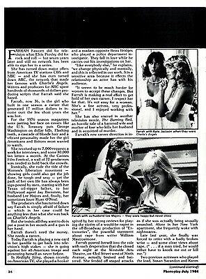 Will The Turmoil Ever End For Farrah Fawcett Article & Pictures