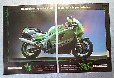 Motosprint989-Pubblicita'/advertising-1989- Kawasaki 750