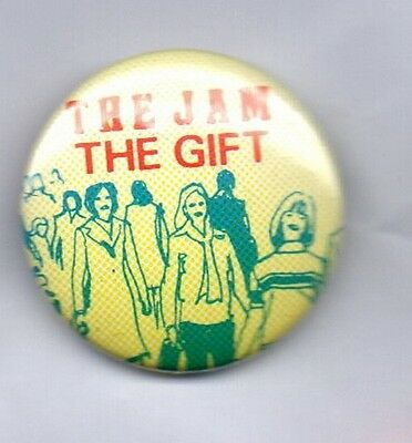 THE JAM The Gift  Button Badge BRITISH PUNK ROCK MOD BAND  PAUL WELLER  PIN 25mm