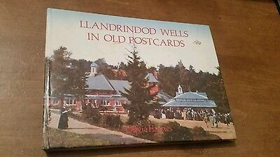 Llandrindod Wells in old Postcards by olivia harries hardback book  1985