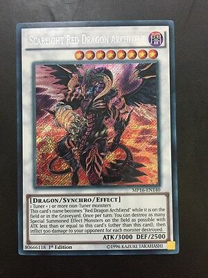 Yugioh Scarlight Red Dragon Archfiend Good Condition Mixed Ed Secret Mixed Packs