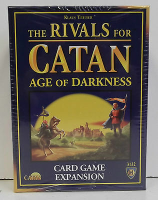 The Rivals For Catan Age of Darkness  Card Game Expansion. New Sealed