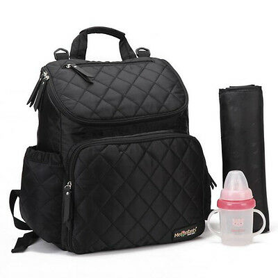 Multi Function Baby Diaper Nappy Changing Mat Mummy Bag Backpack Tote Handbag