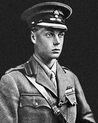 KING EDWARD VIII OF THE UNITED KINGDOM Glossy 8x10 Photo Prince of Wales Poster