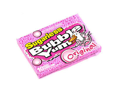 Sugarless Bubble Yum 12 Count Original