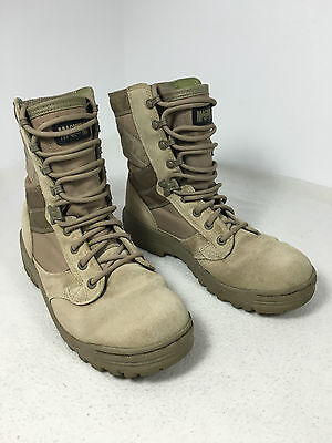 British Army Magnum Desert Tan Camel Assault Patrol Combat Boots Amazon 5 Size 5