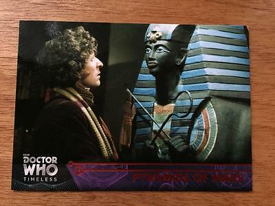 2016 Topps DOCTOR WHO Timeless #22 - Pyramids of Mars - Red Parallel 07/25