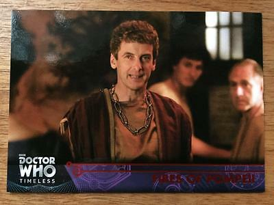 2016 Topps DOCTOR WHO Timeless #60 - Fires of Pompeii - Red Parallel 19/25