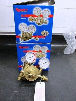 Lot of 2 Rexarc Gas Regulators ** New and Unused**