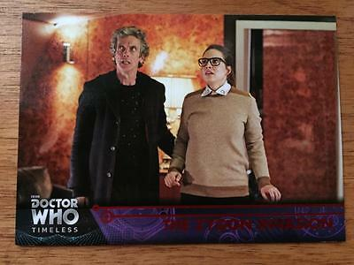 2016 Topps DOCTOR WHO Timeless #99 - The Zygon Invasion - Red Parallel 14/25