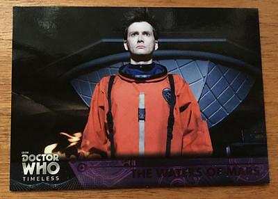 2016 Topps DOCTOR WHO Timeless #68 - The Waters of Mars - Purple Parallel 05/50