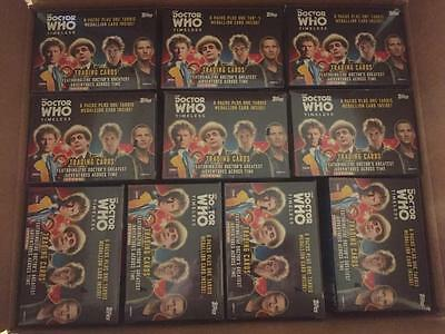 2016 Topps DOCTOR WHO Timeless Value Box Lot x10 Tardis Medallion cards Sold Out