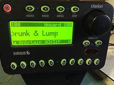 ACTIVATED SIRIUS Clarion sirPNP pnp RECEIVER only XM read all