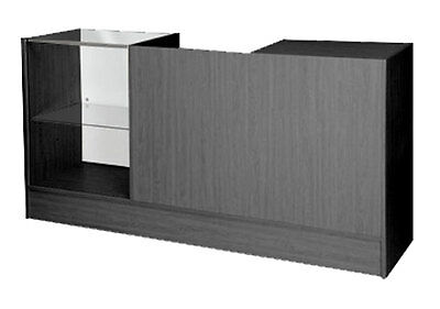 Showcase Counter Register Stand All in One Retail Sales POS Display Black NEW