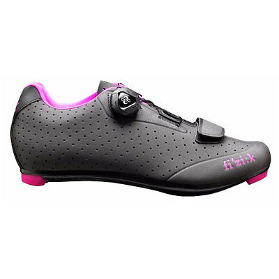 Fizik Shoes Women's Road R5 Donna BOA Anthracite with Fuschia Trim Size 38.5