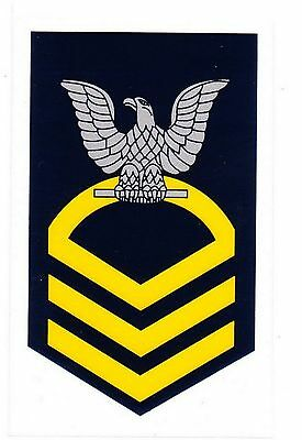 Navy E-7 Chief Petty Officer Decal Sticker