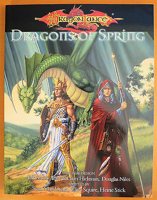 Dragonlance Dragons of Spring - Dungeons & Dragons 3.5 - NEW
