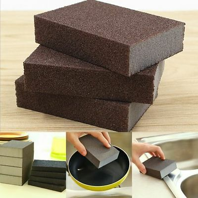 Kitchen Nano Emery Magic Clean Rub Rust Stains Removing Sponge Cleaning Tools PM