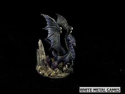 D&D LEGEND OF DRIZZT SHIMMERGLOOM SHADOW DRAGON Miniature Painted as Pictured