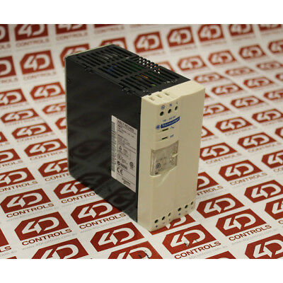 Telemecanique ABL7 RE2405 POWER SUPPLY 2.8/1.4AMP 100-240VAC IN - Used