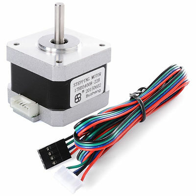 Nema17 Stepper Motor 2 Phase 4-Wire 1.8°CNC Robot for 3D Printer 320mN.m TE225