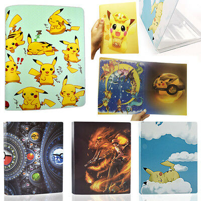 Pokemon Cards Album Book List Card Collectors Holds112/324 Pokemon Cards
