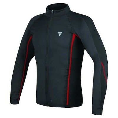 Shirt Moto Dainese D-Core No-Wind Thermo Tee Ls Black/Red