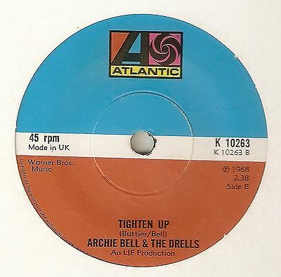 ARCHIE BELL Tighten Up A Showdown ATLANTIC  NORTHERN SOUL UK 45