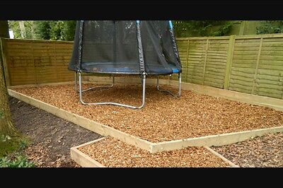 Wood Chip / Bark Chippings , Great For Gardens And Kids Play Areas Even Animals