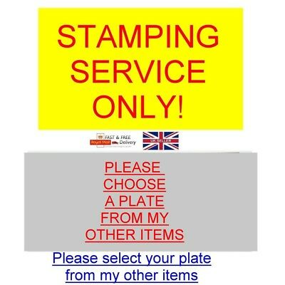 Trailer Chassis Plate Stamping Engraving Etched Id All-Blank-Vin-Chassis-Plates