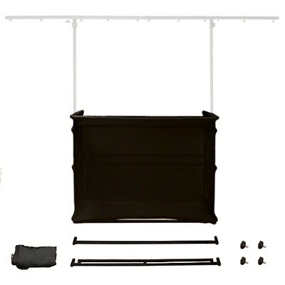 Gorilla GDS-KIT Ad-On Black Scrim Kit for GDS-4 & GDS-5 4ft Disco Stand Booth