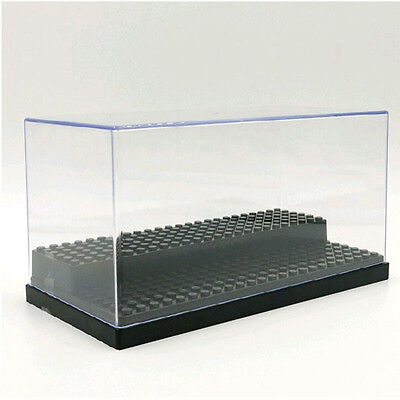 Black Display Box Show case For Lego MinifiguresSelf-Assembly Acrylic/Plastic
