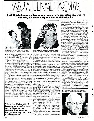 Ruth Batchelor : I Was A Teenage Harem Girl Article & Picture(S)