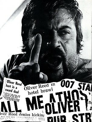 Oliver Reed : The Man Nobody Can Tame Article & Picture(S)