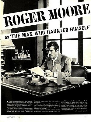 Roger Moore As The Man Who Haunted Himself Article & Picture(S)