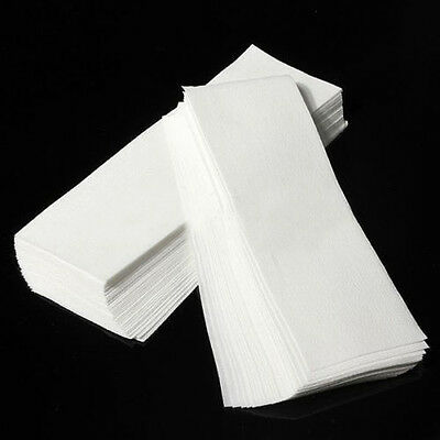 100x Hair Removal Depilatory Nonwoven Epilator Strips Paper Roll Waxing Mirable