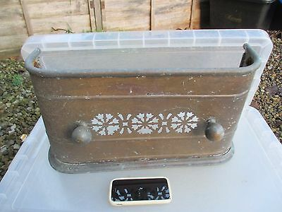 Antique Brass Tidy Betty Fire Front Grate Grille Vintage Fireplace Fire Guard