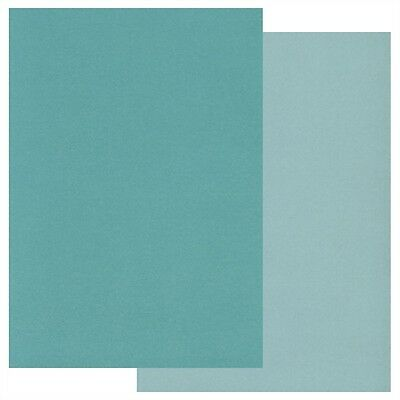 Clarity GROOVI A5 COLOURED PARCHMENT PAPER Two Tone Pack TEAL x 20 GRO-AC-40191