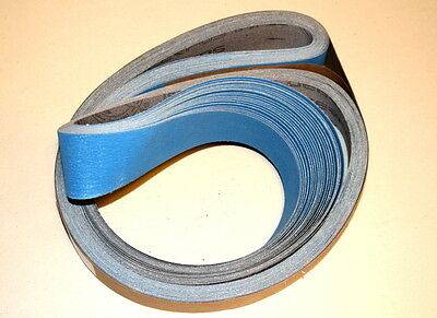 "2""x 72"" Ceramic Sanding Belts J-Flex P120 Grit -  5 PC"