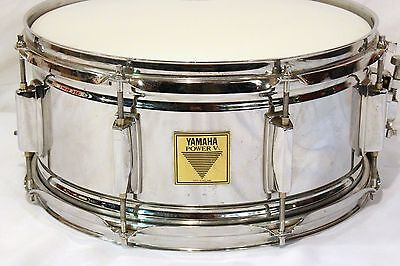 Yamaha Power V Snare Drum, 8 Lug, 6.5x14, Made in England(Premier)