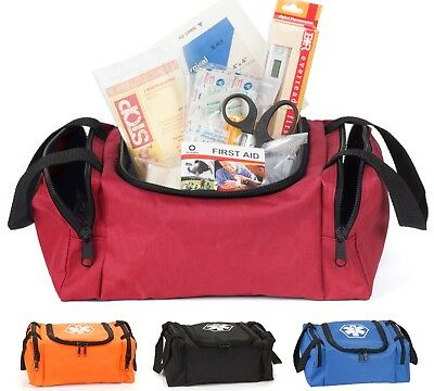 Eco Medix First Aid Kit Fully Stocked with Trauma Supplies