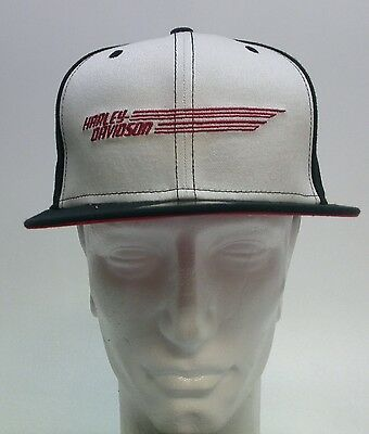 New Era College Harley Davidson Black Hat 59FIFTY Fitted Size 7 1/2